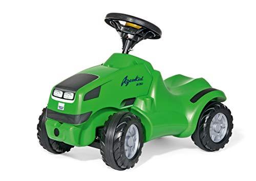 Rolly Toys Babyrutscher rollyMinitrac Deutz Agrokid (mit Ablagefach, ergonomische Fahrzeugkontur, Lenkrad mit Hupe, ab 1 ½ Jahren geeignet) 132102