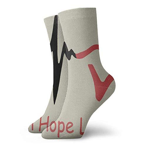Love Kostüm Boat - Jxrodekz Ankle Short Sports Socks Faith Hope Love Unisex Non Slip Casual Dress Boat Stocking for Men Women Running