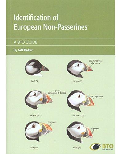 Identification Guide of European Non-Passerines (BTO Guides)