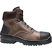 BASE PROTECTION BAS-B741-9 Bison Top Safety Boots, Brown, UK 9/EU 43