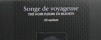 PAGÈS Thé Noir Fleurs de Bleuets Songe de Voyageuse 20 Sachets 40 g - Lot de 4