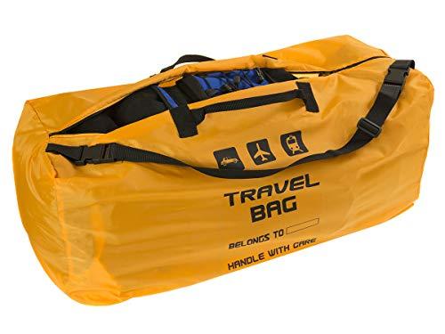 Rucksackhülle für das Flugzeug Reisetasche für Rucksack Größe zu 60-90L Transporttasche Backpack Tragetasche perfekt am Flughafen beim Einchecken Bahnhof Autofahrten [085]