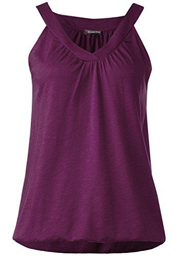 Street One Damen V-Neck Top Sinja sunny violet