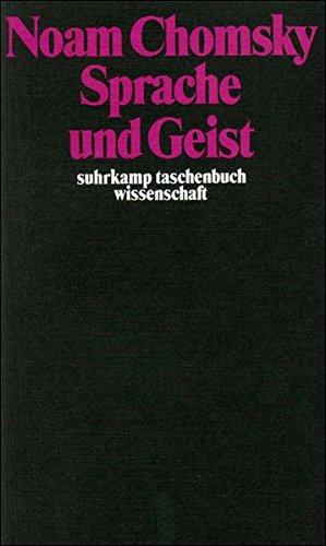 Sprache und Geist (suhrkamp taschenbuch wissenschaft, Band 19) (Chomsky Noam)