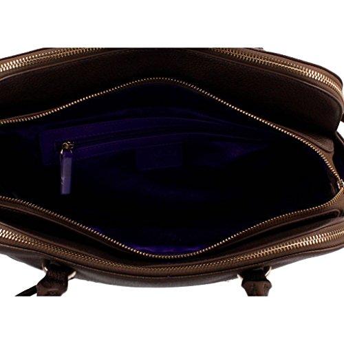 Sacs - Maroquinerie, couleur Marron , marque VERSACE JEANS, modÚle Sacs - Maroquinerie VERSACE JEANS E1VOBBA6 75342 Marron Marron