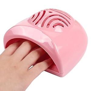 Sasairy Mini Secador de Uñas Dedo Toe polaco secado rápido al aire herramienta profesión máquina de uñas secador de soplador ventilador DIY arte para uñas en gel