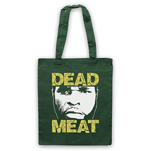 Inspiriert durch Rocky 3 Clubber Lang Dead Meat Inoffiziell Umhangetaschen Dunkelgrun