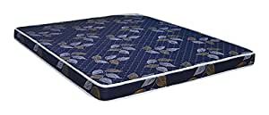 @home by Nilkamal Prem Blue 4-inch Queen Size Rubberised Coir Mattress (Blue, 72x60x4)
