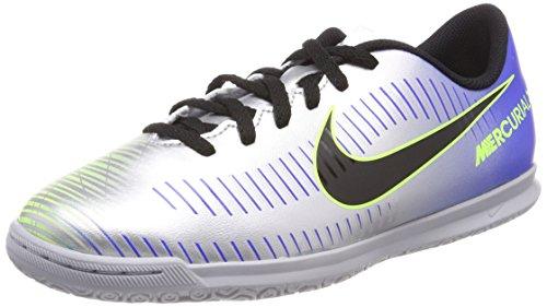 Nike Jr Mercurialx Vrtx III NJR IC, Zapatillas de Fútbol Unisex Niños, Azul (Racer Blue Black Ch R O M E Volt 407), 38 EU