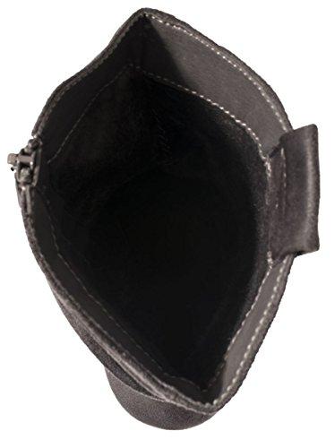 Elara Cowboy Boots | Elegante Damen Stiefeletten | Wildlederoptik Gefüttert Grau