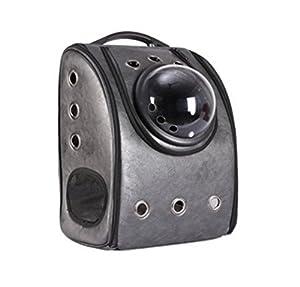 DLUF Sac à dos Pet / Space Cabin Sac à bandoulière double / Chien et chien Voyage Sac à dos portatif / Pet Nest / Cortex Material , a