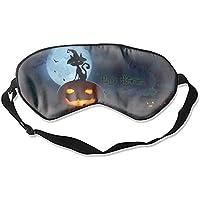 Schlafmaske, Halloween, Kürbis-Katzen, Augenschutz, Augenmasken, beruhigend, geschwollene Augen, dunkle Kreise... preisvergleich bei billige-tabletten.eu