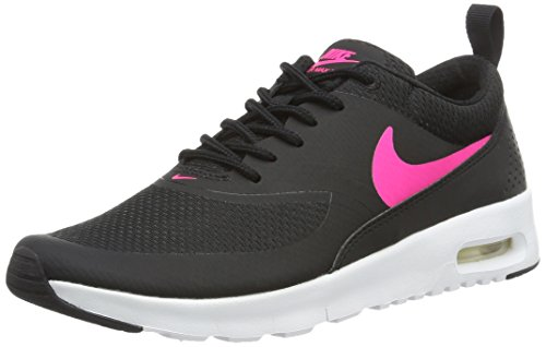 Nike Unisex-Kinder Air Max Thea GS 814444-001 Low-Top, Mehrfarbig (Black,Pink 001), 36.5 EU