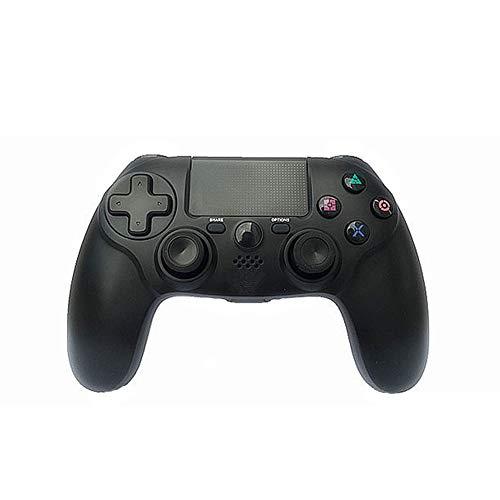 PS4-Wireless-Controller, Bluetooth-Controller-Wireless-Gamecontroller-Verbindung, kompatibel mit PS4-Controller von Drittanbietern (Schwarz) 2019 neu,Black