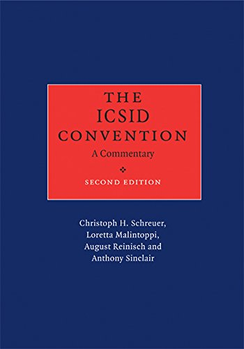 The ICSID Convention: A Commentary (English Edition)