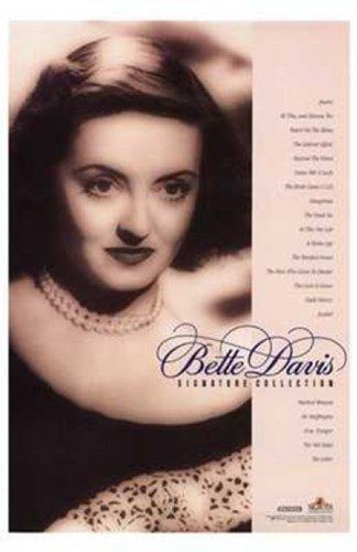 Bette Davis Signature Collection Movie Poster (27,94 x 43,18 cm) -
