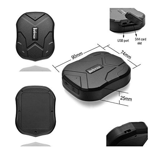 TKSTAR GPS Tracker GPS-Tracker Auto GPS GPS Tracker IP68 Wasserdicht Locator GPS Standby-Tracker 3 Monate ohne Installation Logger GPS TK905