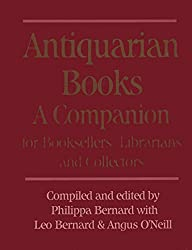 Antiquarian Bookseller's Companion