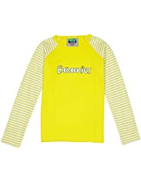 Brownie Long Sleeve Girl's T-Shirt