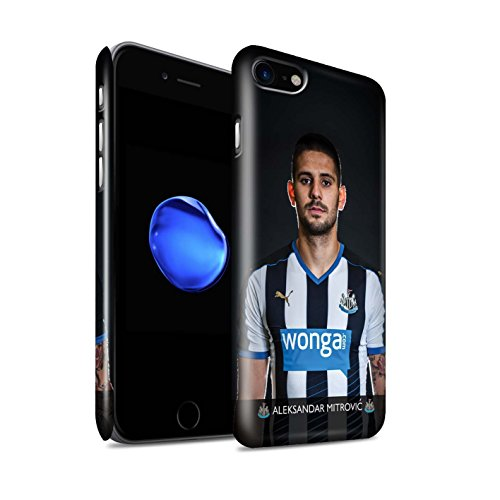 Offiziell Newcastle United FC Hülle / Glanz Snap-On Case für Apple iPhone 7 / Elliot Muster / NUFC Fussballspieler 15/16 Kollektion Mitrovic