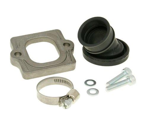 Preisvergleich Produktbild MALOSSI X360 MHR Viton 22 / 28mm Ansaugstutzen für Piaggio Zip SSL 25,  Vespa ET2,  LX 50