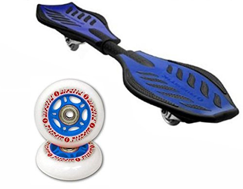 RipStik Caster Board Value Pack With Extra Wheels (Blue) by Razor 5X