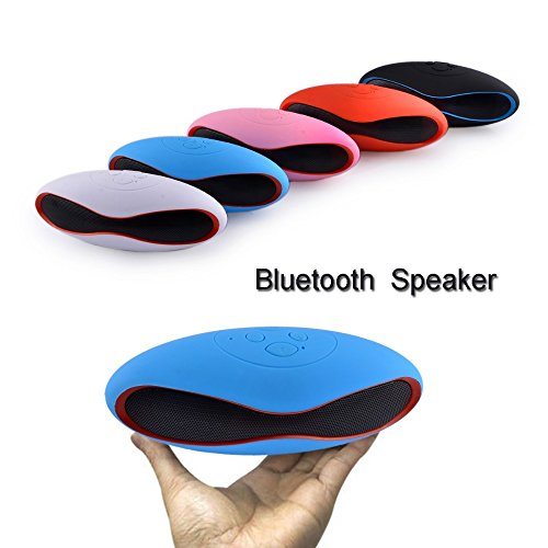 Samsung Galaxy Pocket Neo S5310 Compatible MINI Bluetooth Multimedia Speaker System with FM / Pen Drive / Micro-SD Card Slot Mini Rugby Style Bluetooth Wireless Outdoor Portable USB MP3 Player For All Android Devices By M R Services  available at amazon for Rs.299