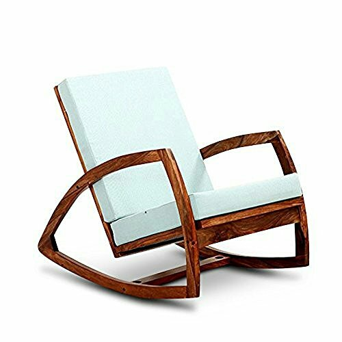 Custom Decor Coaster Southern Country Plantation Porch Rocker/Rocking Chair, Honey Teak Wood Finish  available at amazon for Rs.6999