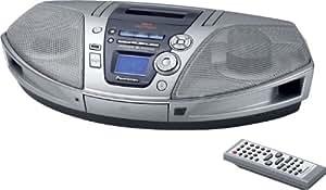 Panasonic RX-ES29EG-S CD Radio Enregistreur à cassette 20W MP3 et Virtuel 3D