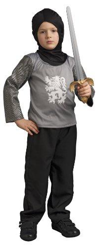 Unbekannt Caritan (Faschingskostüme) (59737) Ritter Lancelot mit Helm und Schwert im Deluxe-Gigbag, für Kinder von 3-4 Jahren