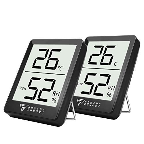 DOQAUS Thermometre/Hygromètre Intérieur, Hygrometre...