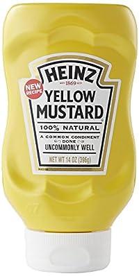 Heinz Yellow Mustard, 396g