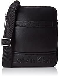 Bennet Mini Flat Crossover Bag - Black