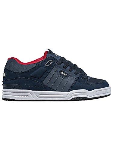 Globe Herren Fusion Sneaker Navy/Red