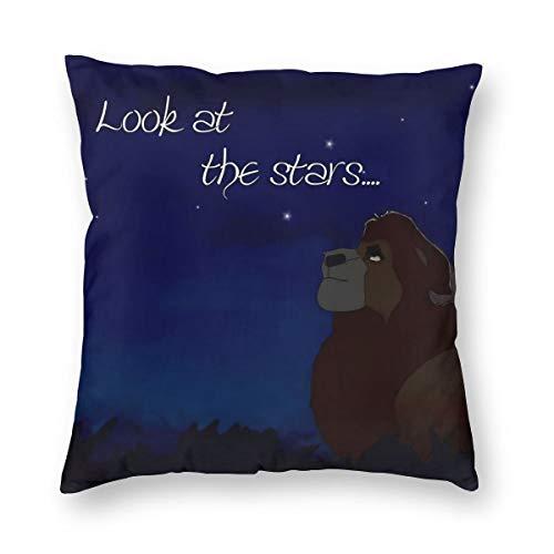 Gifetee The Lion King Look at The Stars Dekokissen Fall Platz Kissenbezug Kissenbezug Protektoren Für Sofa Bank Couch Autositz Bett 22