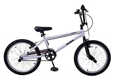 "Hawk Urban Bmx Cheapest Bike With Stunt Pegs 20"" Wheel White by Hawk"