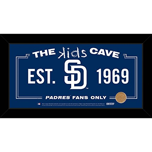 mlb-san-diego-padres-kids-cave-sign-with-game-used-dirt-from-petco-park-blue-10-x-20