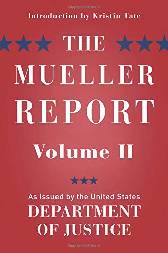 The Mueller Report: Volume II (Redacted)