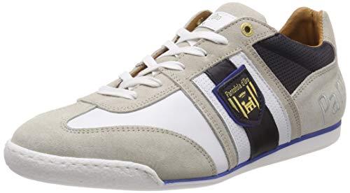 Pantofola d'Oro Imola Scudo Uomo Low, Scarpe da Ginnastica Basse, Bianco (Bright White .1FG), 44 EU