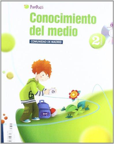 Conocimiento del Medio 2º Primaria Comunidad de Madrid (Pixépolis) - 9788426379863