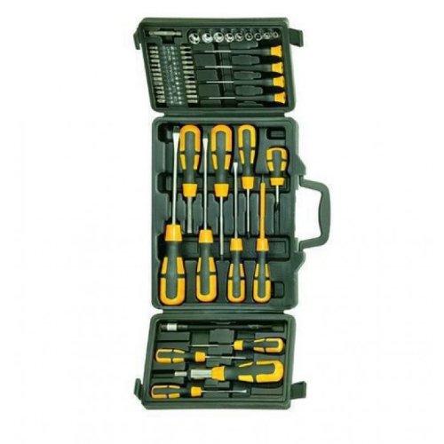 Blinky Bk-52 Werkzeugset im Koffer, 52 Teile, Schraubendreher und Bits