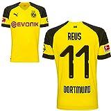 Puma BVB Borussia Dortmund Home Trikot mit Bundesliga Logo 2018 2019 Kinder Marco Reus 11 Gr 176