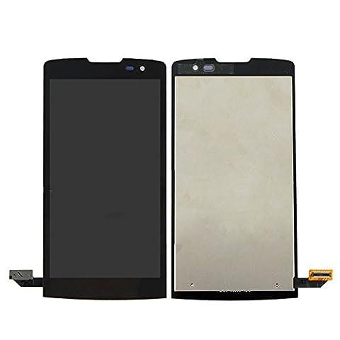 ixuan Vitre Tactile Ecran LCD Assemblé de Rechange pour LG Leon H340 h320 h324 H340N H326 MS345 Noir avec Outiles