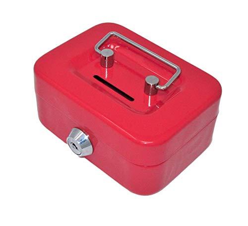 """DWD 4,5""""Mini caja de dinero en efectivo (puede variar de color: rojo, rosa o azul)"""