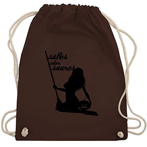 oder Saures sexy - Unisize - Braun - WM110 - Turnbeutel & Gym Bag ()