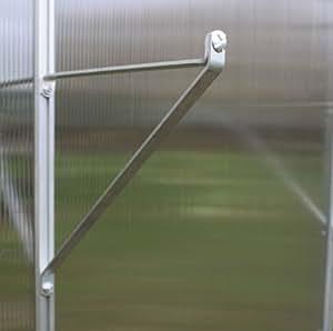 "Greenhouse Shelf Brackets - 1 pair 10"" wide"