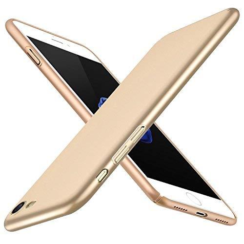 Joyguard iPhone 7 Hülle, iPhone 8 Hülle, iPhone 7 Handyhülle iPhone 8 Handyhülle Hard PC [Ultra dünn] [Slim] [Leicht] [Anti-Kratzer] Schutzhülle Case für iPhone 7/iPhone 8 Hülle - 4.7 Zoll - Gold