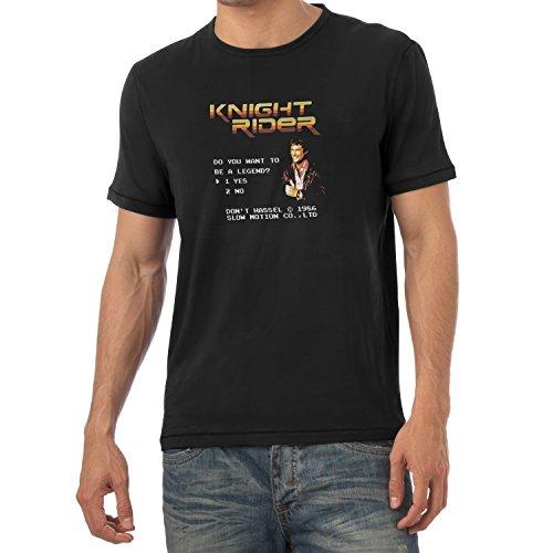 TEXLAB - Do you want to be a Legend - Herren T-Shirt Schwarz