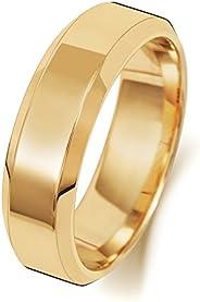 Anello Fede Nuziale Uomo/Donna 6mm in Oro giallo 18k (750) WJS1891018KY