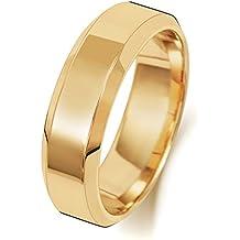 Alianza de Boda Hombre/Mujer 6mm Oro Amarillo 18k (750) WJS242018KY